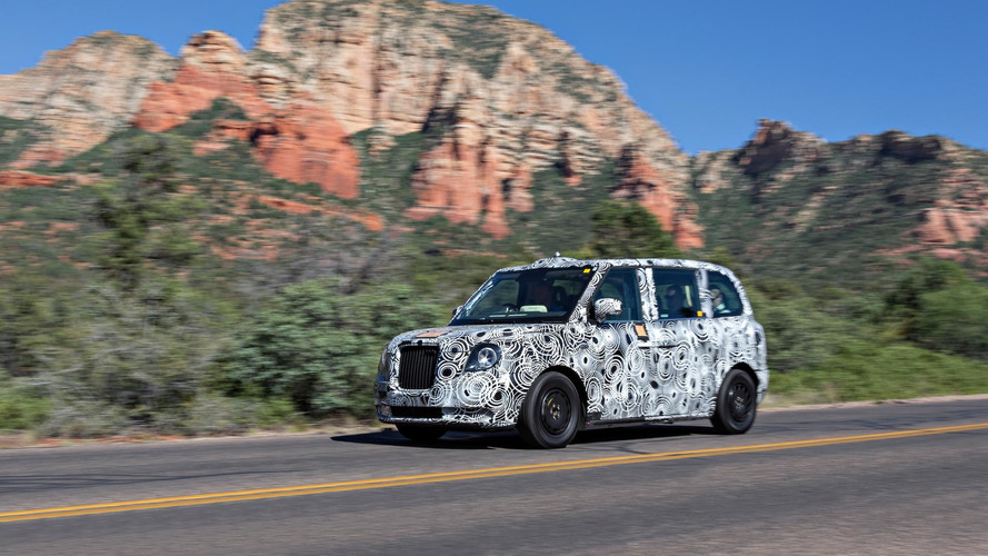 Electric London Taxi Tackles Hot Weather Testing In Arizona