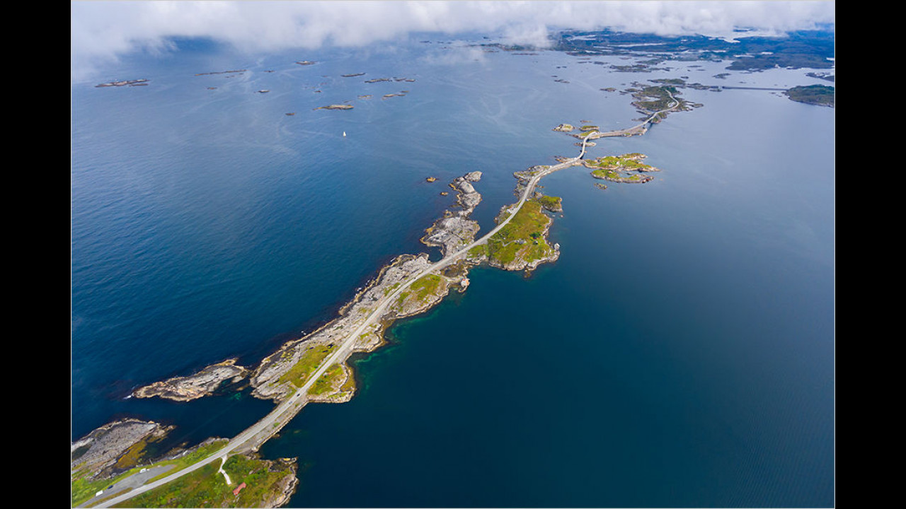 Atlanterhavsveien, Norwegen