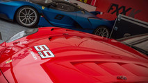 Ferrari 70th anniversary at Goodwood