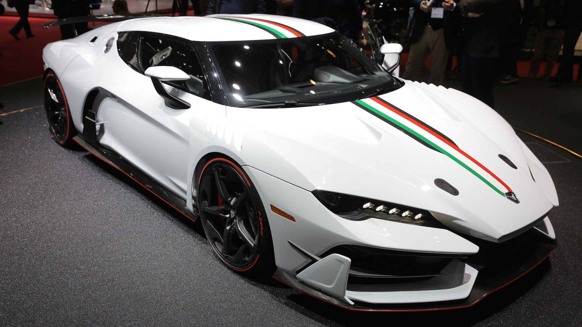 Italdesign Zerouno Visits Geneva With Racy Carbon Fiber Body