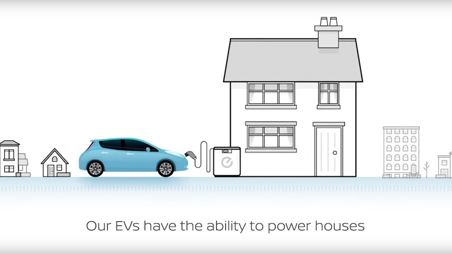 Nissan shows how EVs can help the world in a disaster