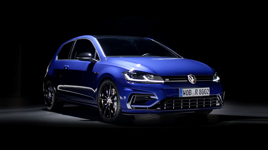Volkswagen Golf R, performans paketini sergiliyor
