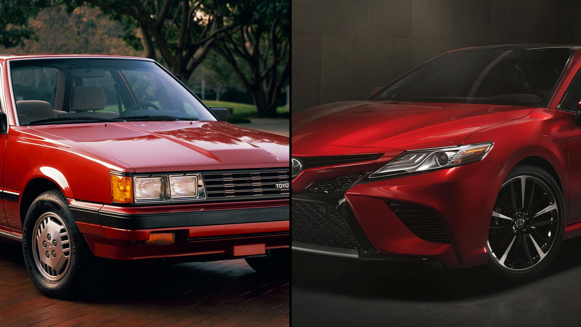 toyota camry how it has changed through the years. Black Bedroom Furniture Sets. Home Design Ideas