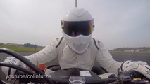 The Stig from Top Gear sets a Guinness record for top speed in bumper car