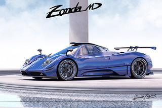 Pagani Created Another 1-of-1 Supercar, The Zonda MD