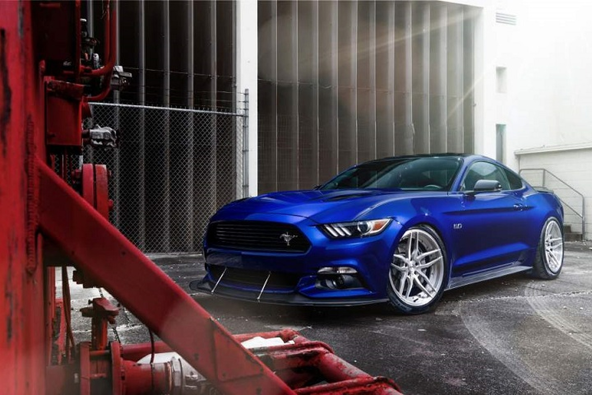 "ADV.1's ""Blue Devil"" Ford Mustang Is Demonically Cool"
