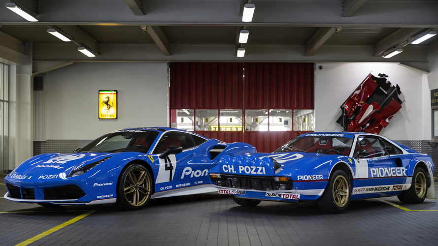 Ferrari 488 GTB Tailor Made revealed in Paris with retro livery