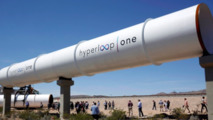 Hyperloop One test track