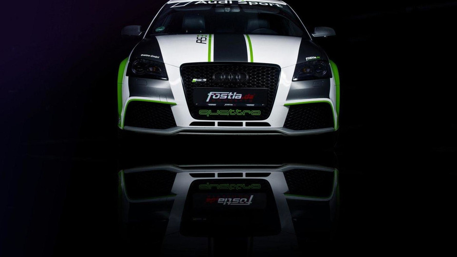 Fostla unveils their Audi RS3 safety car