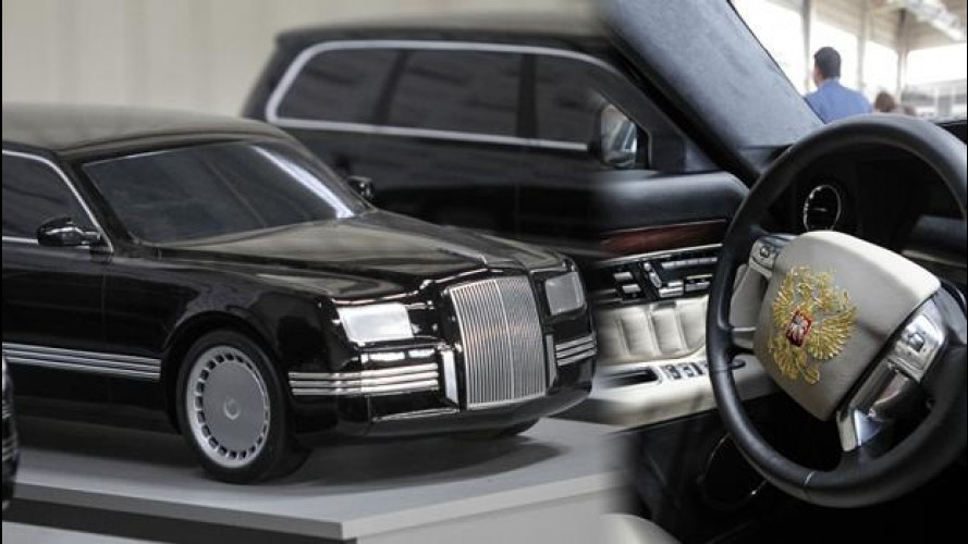 Vladimir Putin: in arrivo la nuova limousine da milioni di euro