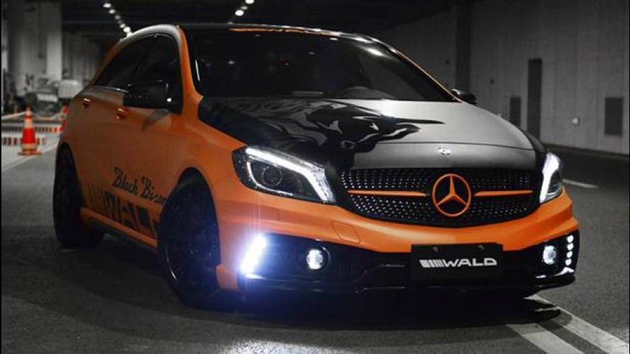 Mercedes Classe A, mai così cattiva