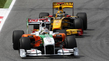 Renault not a better team than Force India - Sutil