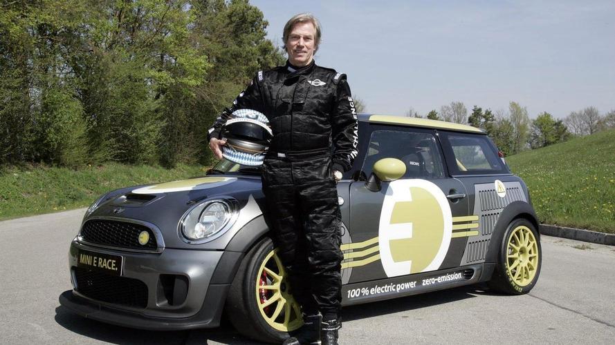 HRH Prince Leopold to pilot MINI E around the Nurburgring Nordschleife