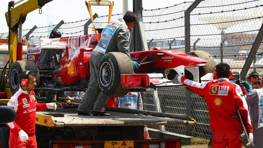 Alonso plays down latest engine failure