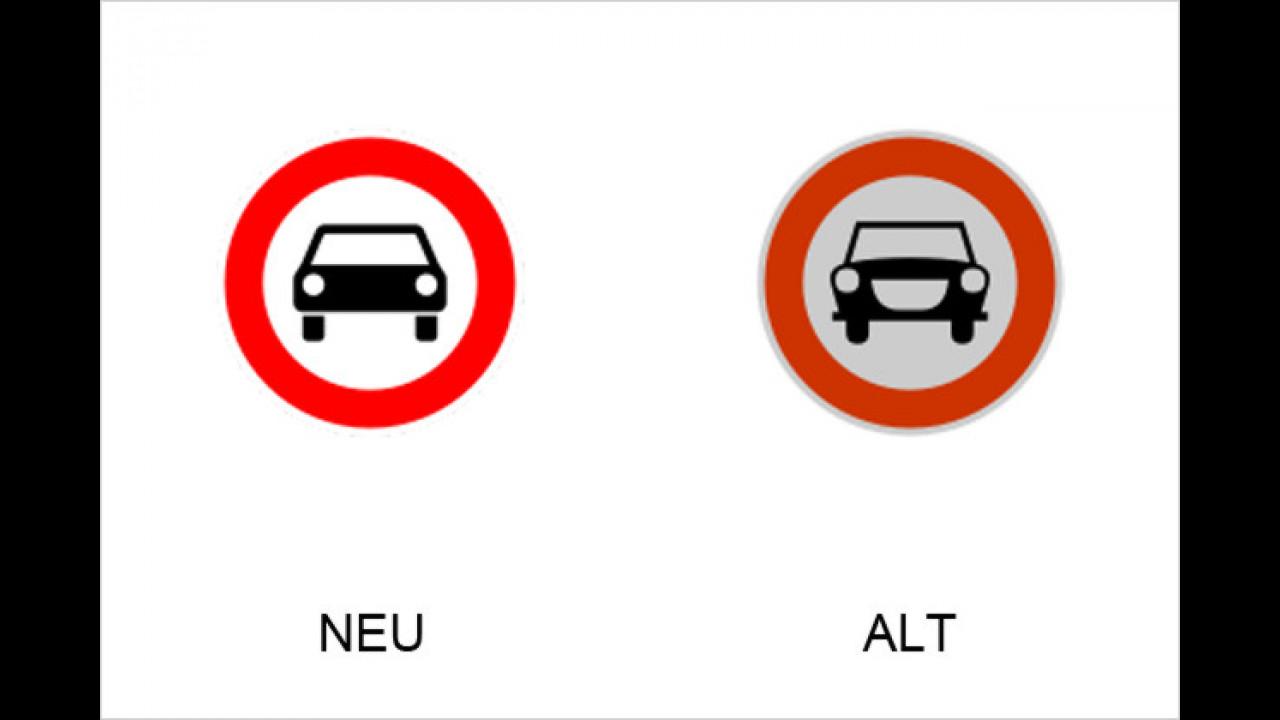 Verbot für Kraftwagen