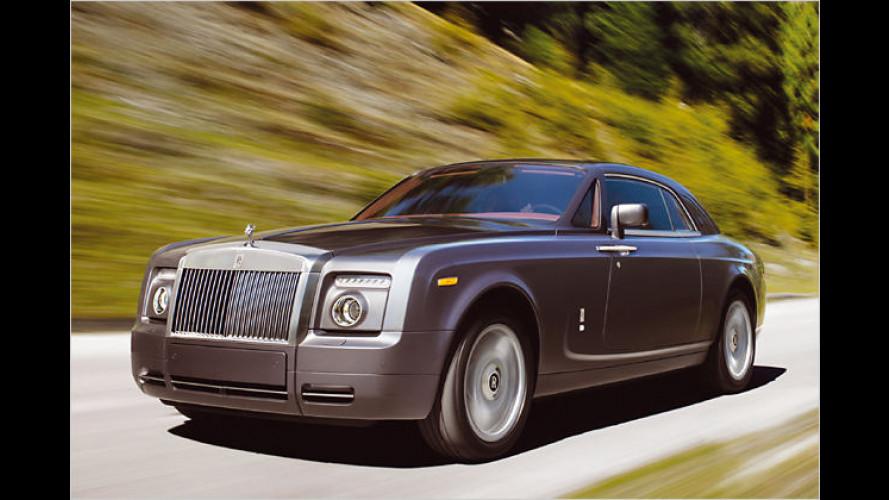 Monumentaler Zweitürer: Das Rolls-Royce Phantom Coupé