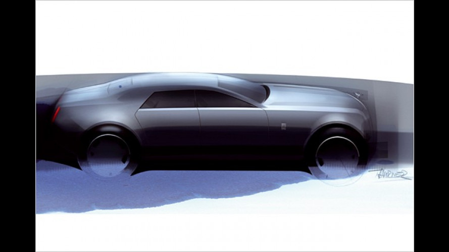 Rolls-Royce veröffentlicht erste Skizzen des neuen RR4