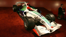 Honda Racing F1 Team's RA108 and new-look livery displayed at Geneva