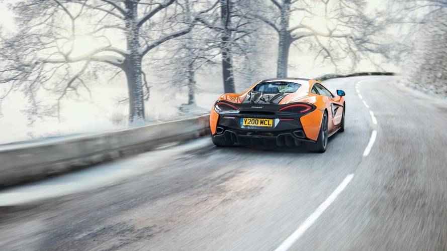 McLaren and Pirelli develop winter tyres for Sport Series cars