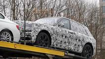 Rolls-Royce Cullinan trailer spy photos