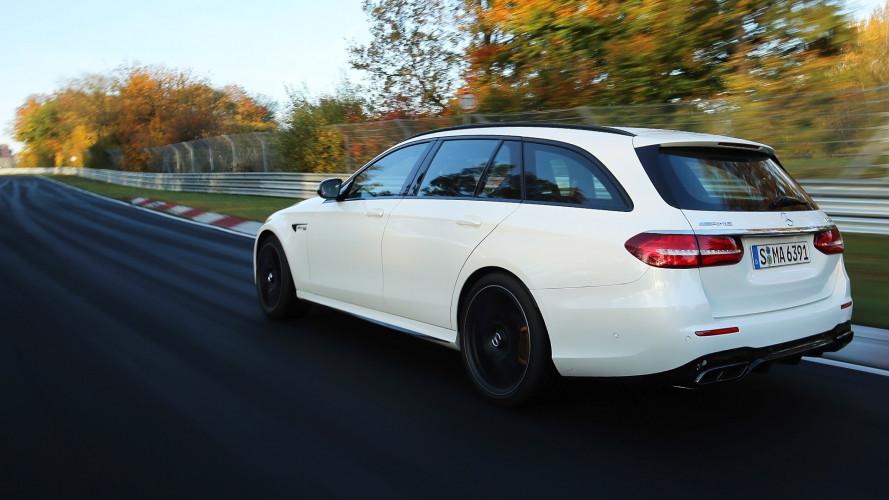 Mercedes-AMG E63 S, la station più veloce al Nurburgring