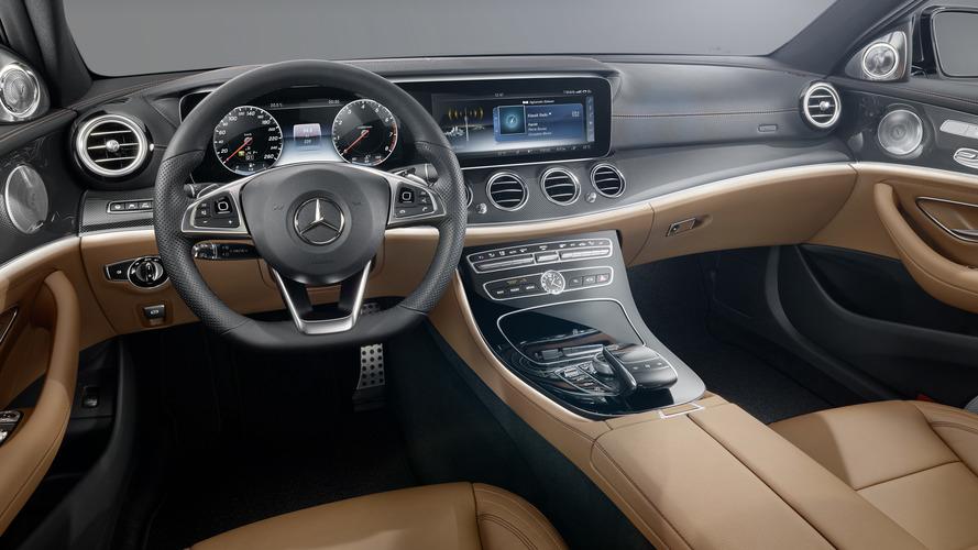 2016 Mercedes E-Class interior revealed