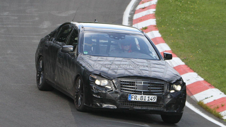 2014 Mercedes S600 Pullman comes into focus - rumors