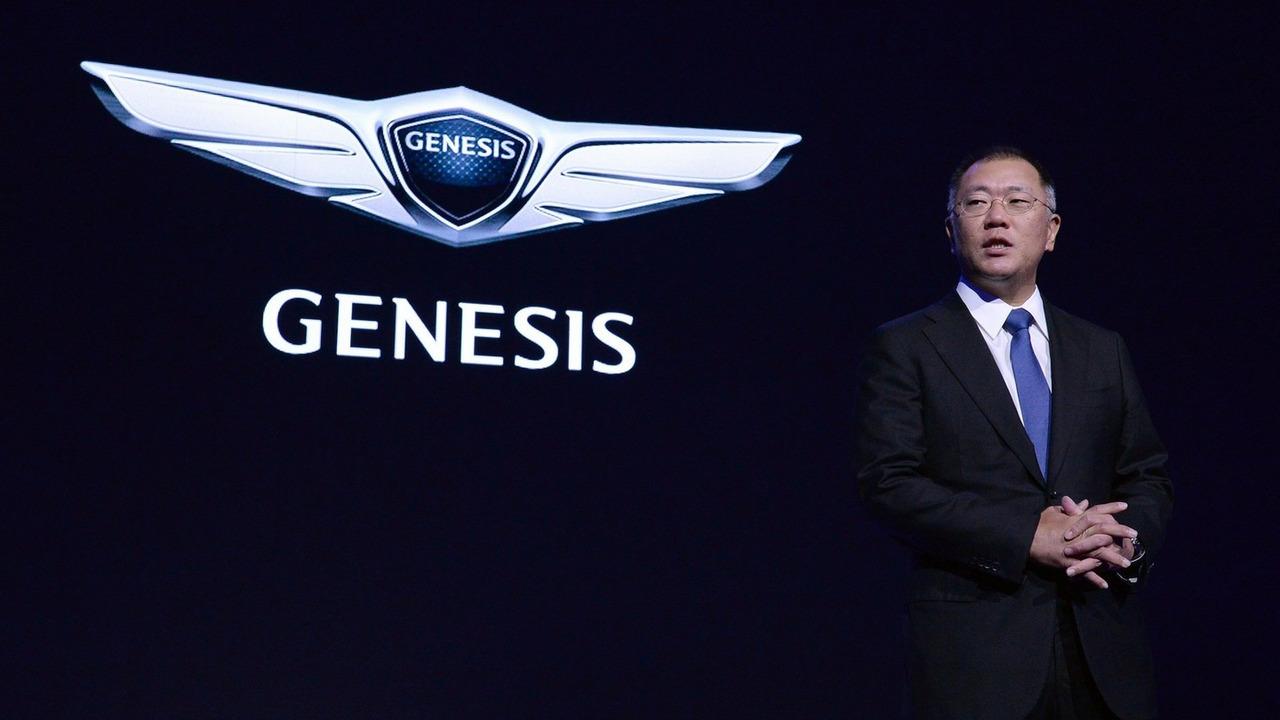 Hyundai Genesis luxury brand