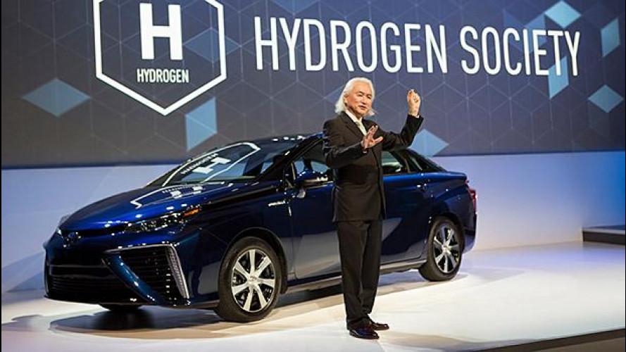 Toyota, l'auto a idrogeno diventa open source
