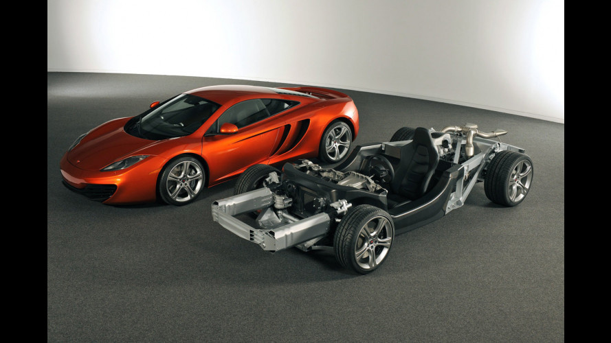McLaren Automotive presenta la MP4-12C