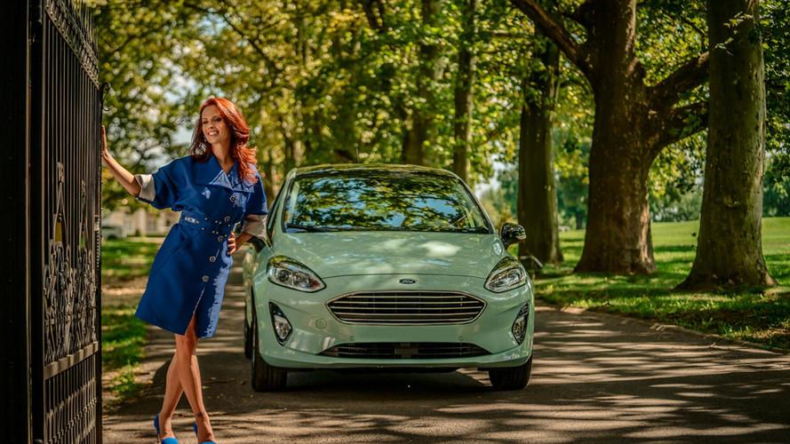 Dobó Kata az új Ford Fiesta magyarországi nagykövete