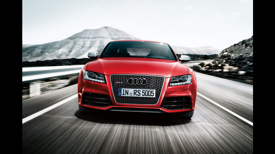 Audi RS5: le prime immagini sul web