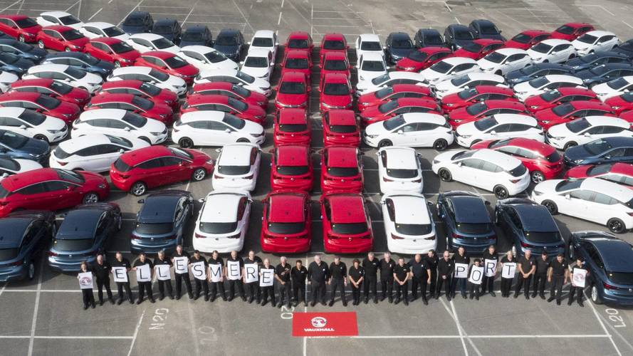 Astra production in doubt as Vauxhall's owners back French plants