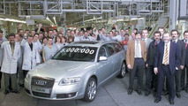 Five millionth Audi A6 leaves production line