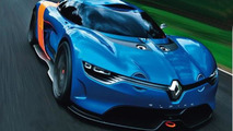 Allegedly Alpine Renault A110-50 Concept, 600, 22.05.2012