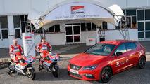 SEAT León CUPRA, coche oficial de Ducati MotoGP