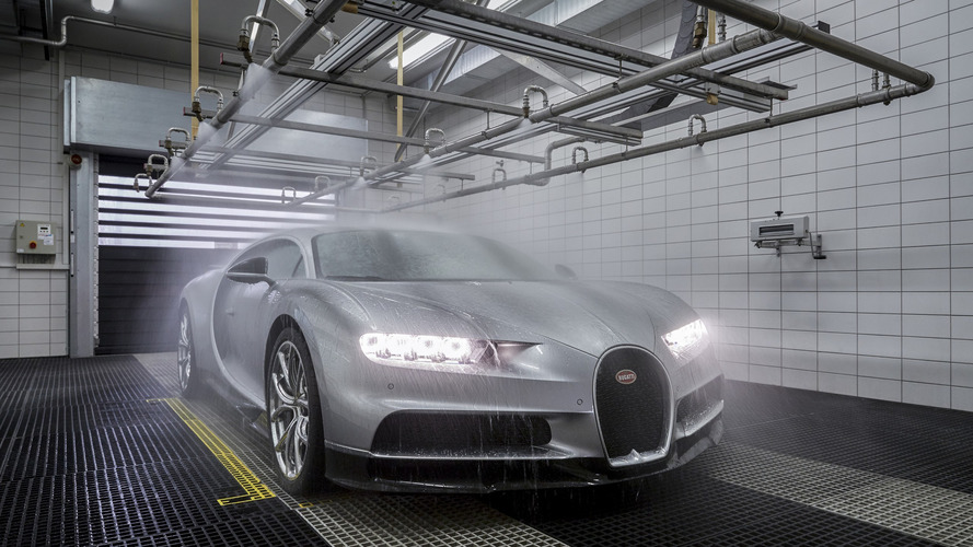 Bugatti - La production de la Chiron en chiffres et en images