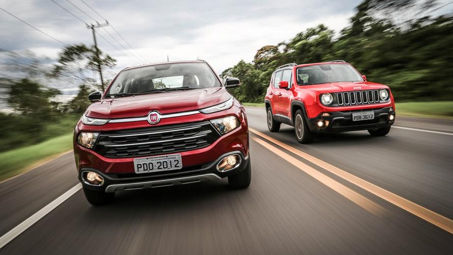 Fiat Toro x Jeep Renegade