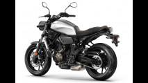 Yamaha mostra a nova XSR700, versão retrô da MT-07