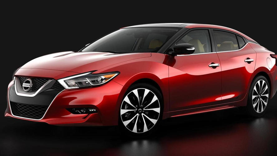 2016 Nissan Maxima returns in official images; will debut at New York Auto Show