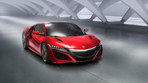2017 Acura NSX has 573 bhp, 476 lb-ft and weighs 3,803 lbs