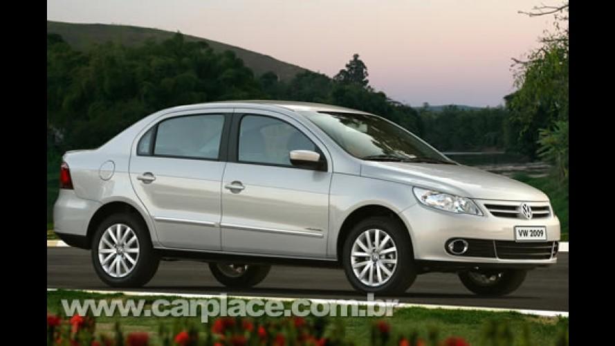 Volkswagen divulga primeira foto oficial da versão sedã do Novo Gol (Voyage?)