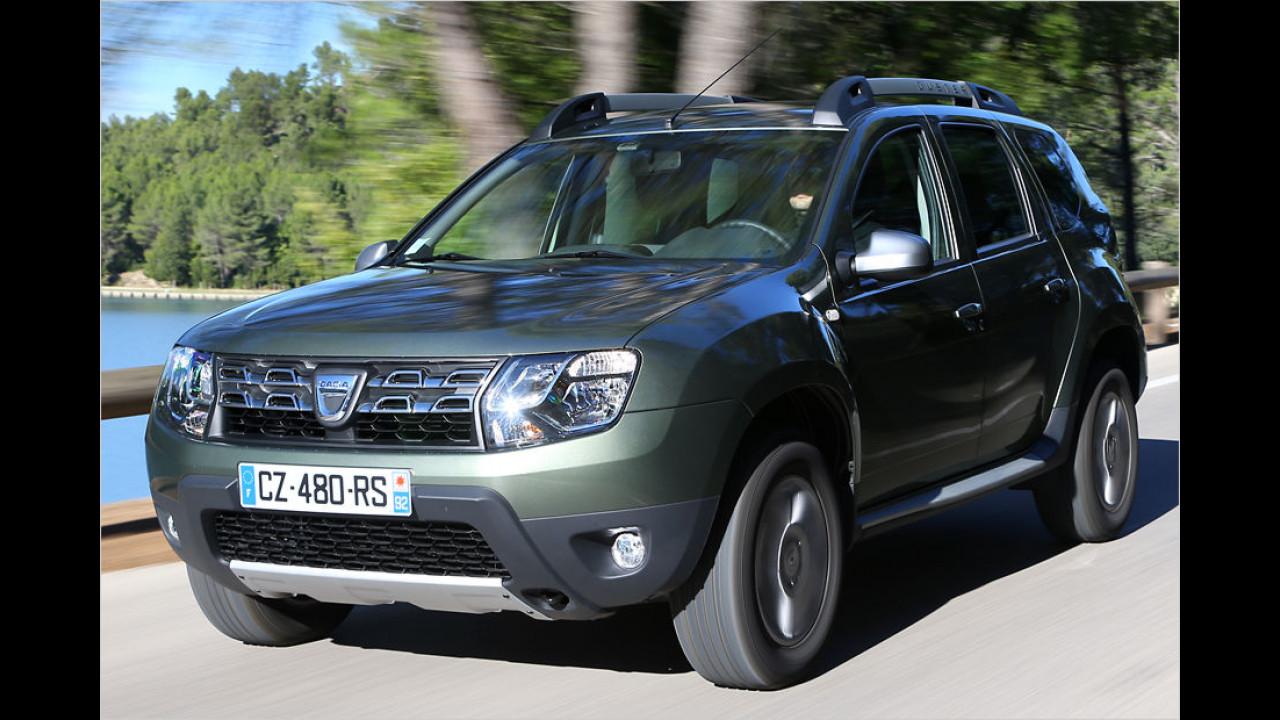 Dacia Duster: 12.703 Neuzulassungen