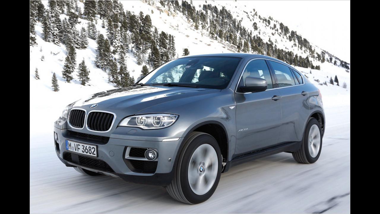 Platz 1: BMW X6 xDrive 40d