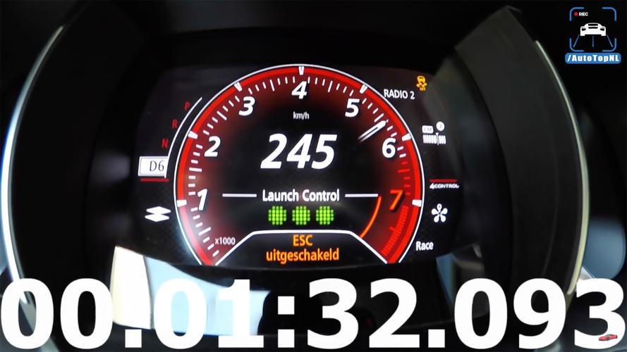 Yeni Megane RS, şaşırtıcı derecede yavaş görünüyor