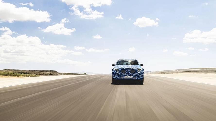 Mercedes-Benz EQC, i test in Spagna