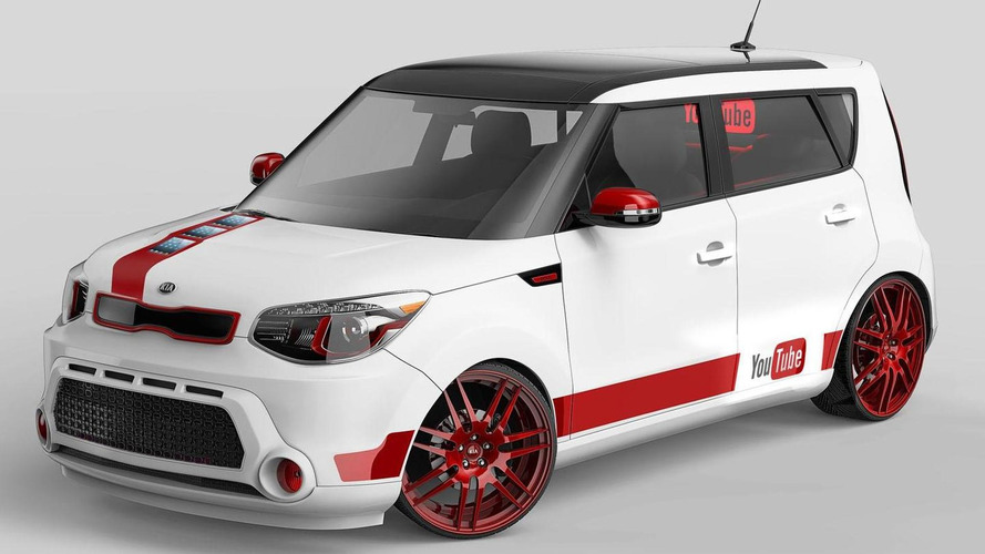 Kia Soul urban unveiled for the YouTube Music Awards