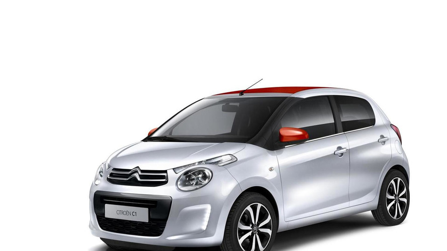 2014 Citroen C1 revealed with open-top Airscape version and awkward headlights