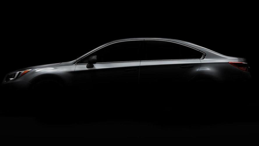 2015 Subaru Legacy teased, promises to have a more coupe-like profile