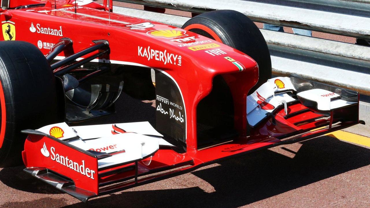 Ferrari F138 front wing and nosecone detail. 22.05.2013 Monaco Grand Prix